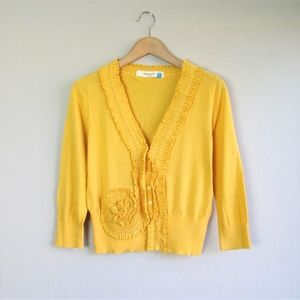 Anthropologie Sparrow 'Whirl and Wind' cardigan